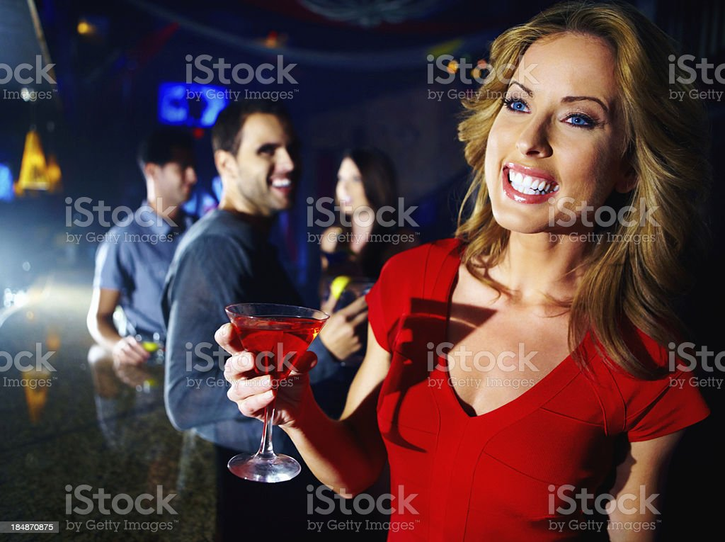 Cocktails on the house royalty-free stock photo