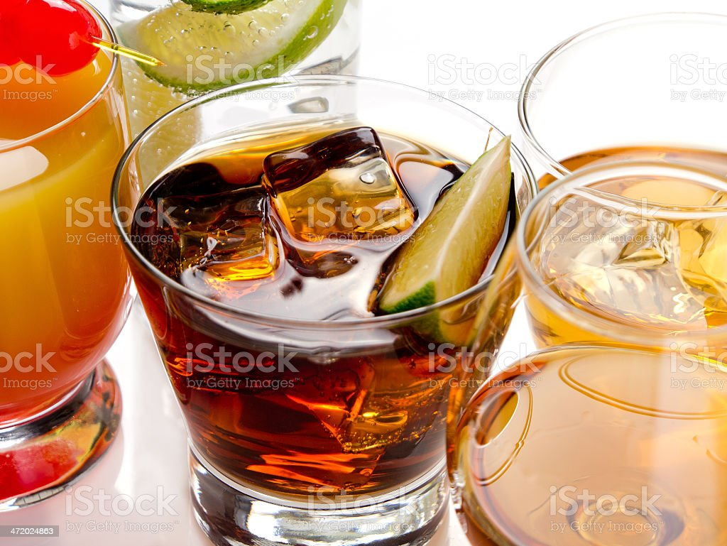 Cocktails royalty-free stock photo