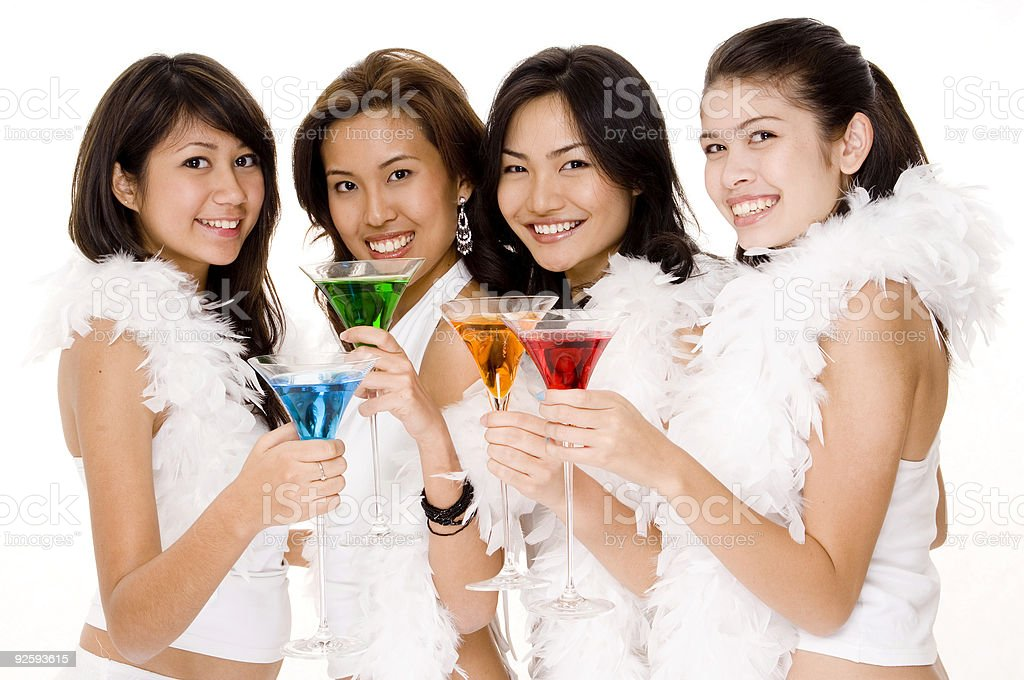 Cocktails #3 royalty-free stock photo