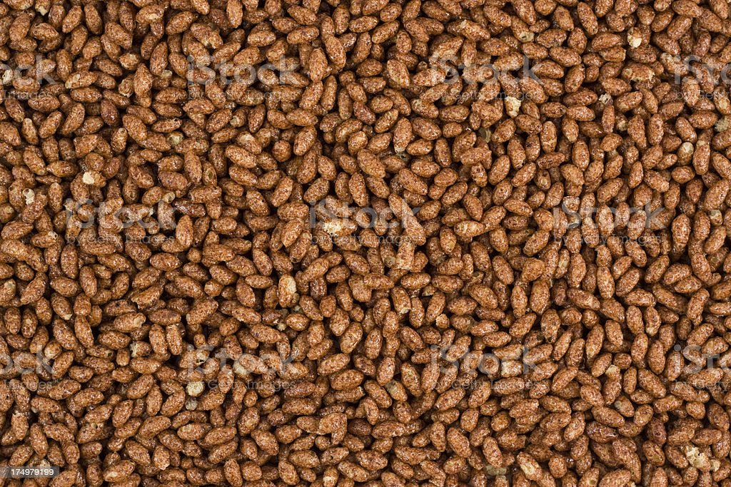 Coco Rice Cereal royalty-free stock photo