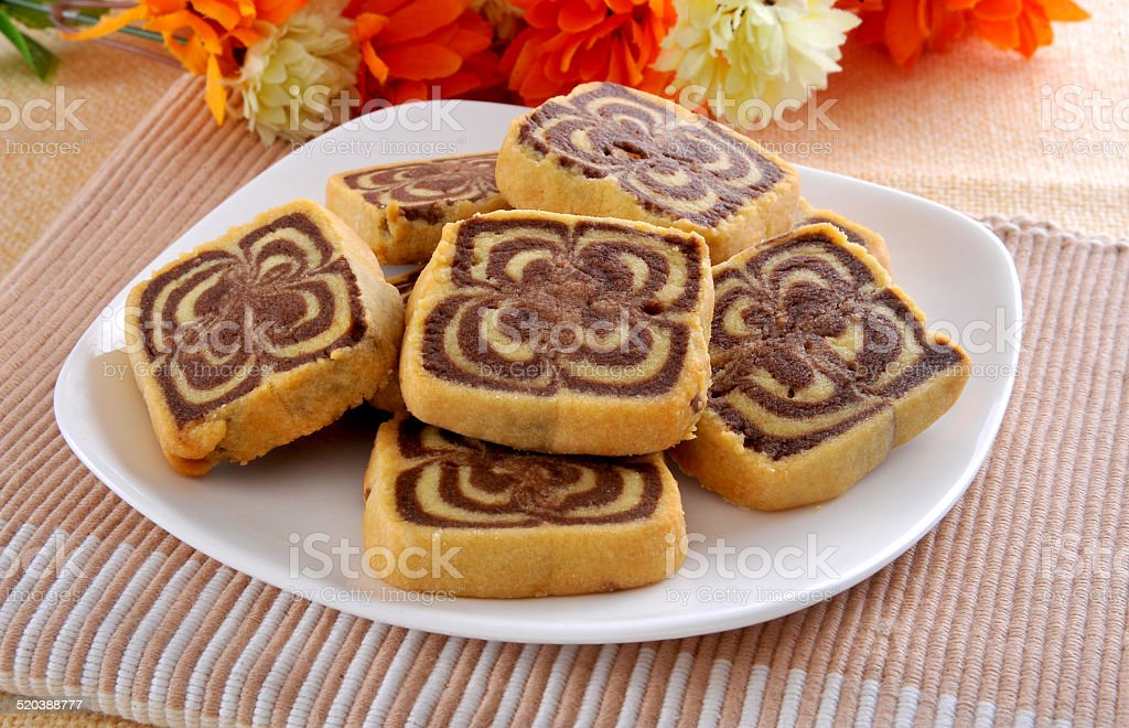 Coco Shortbread-2 stock photo