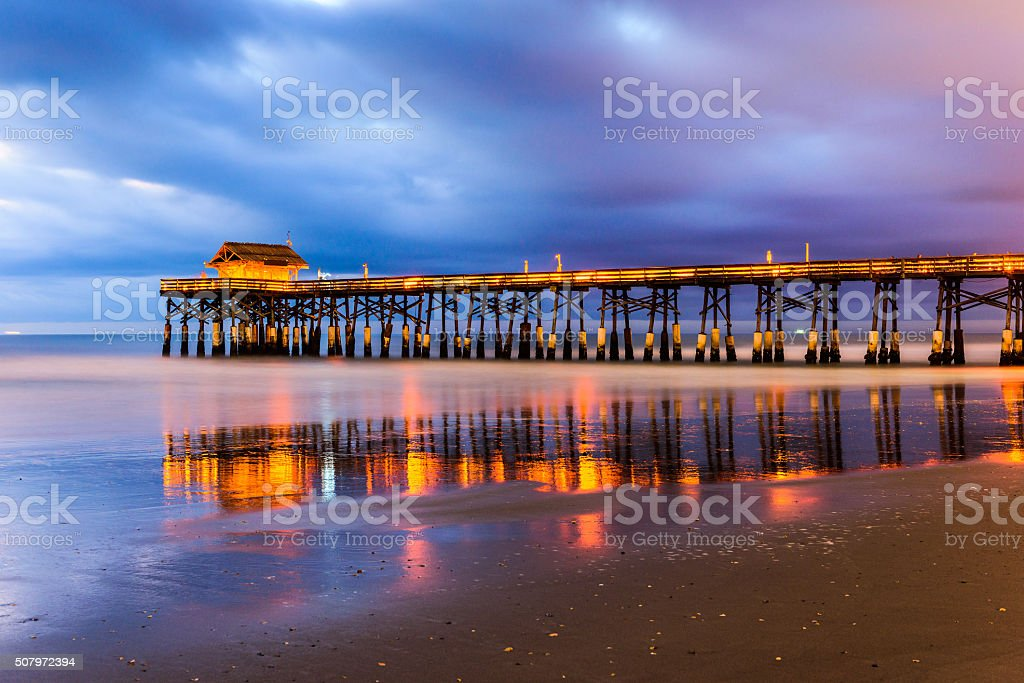 Cocoa Beach Florida stock photo