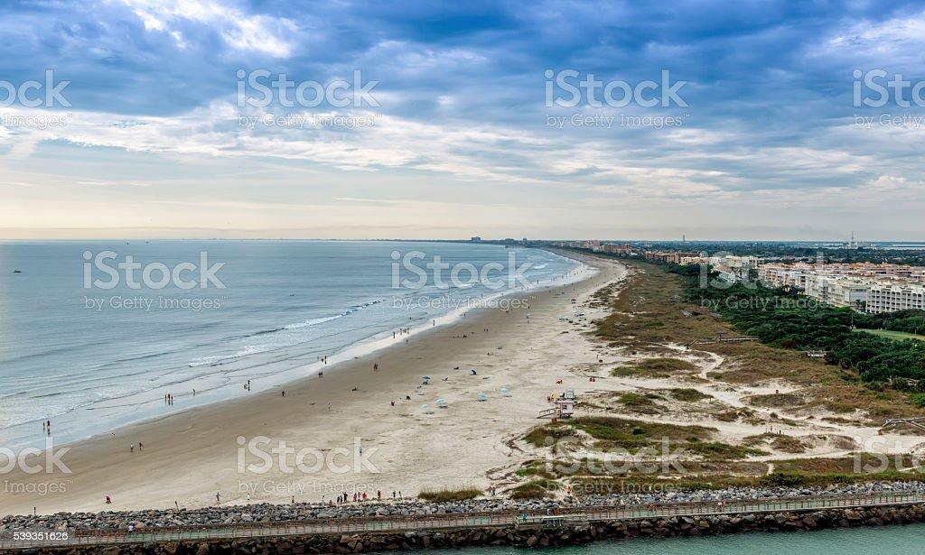 Cocoa Beach, Florida stock photo