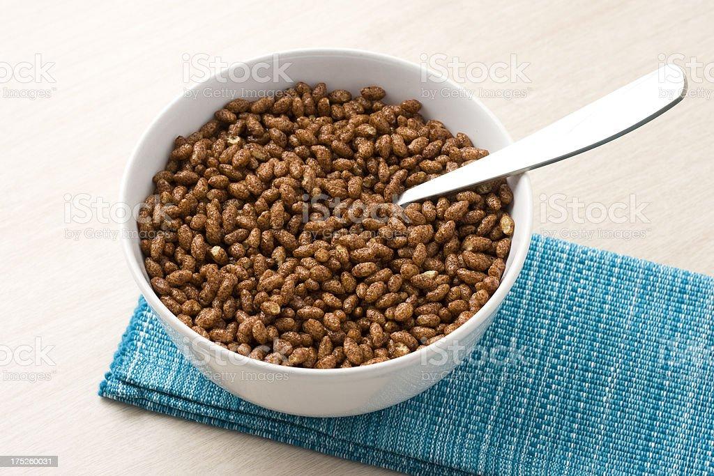 Cocoa cereal stock photo