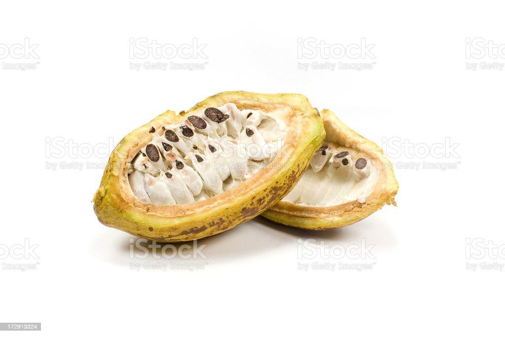cocoa cocao bean royalty-free stock photo