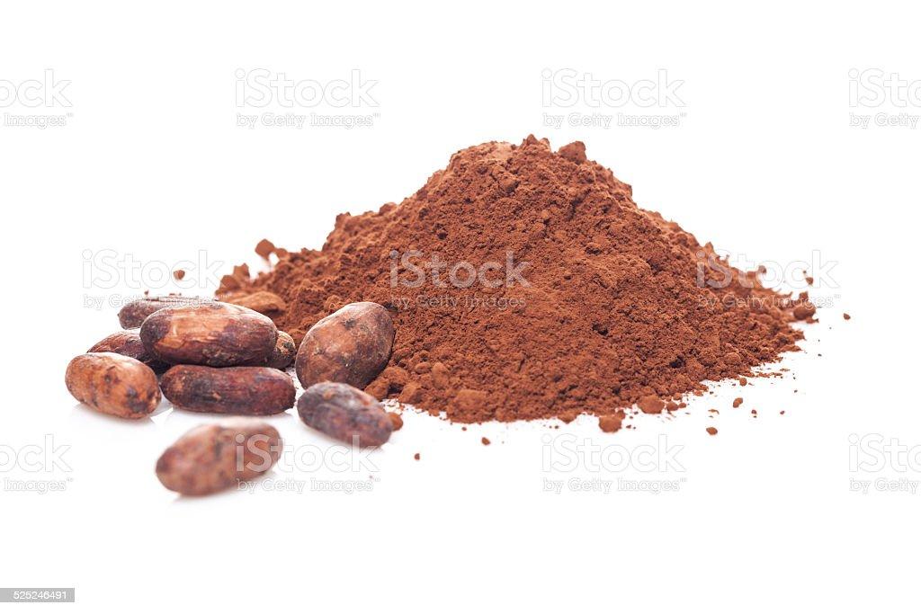 Cocoa mix stock photo