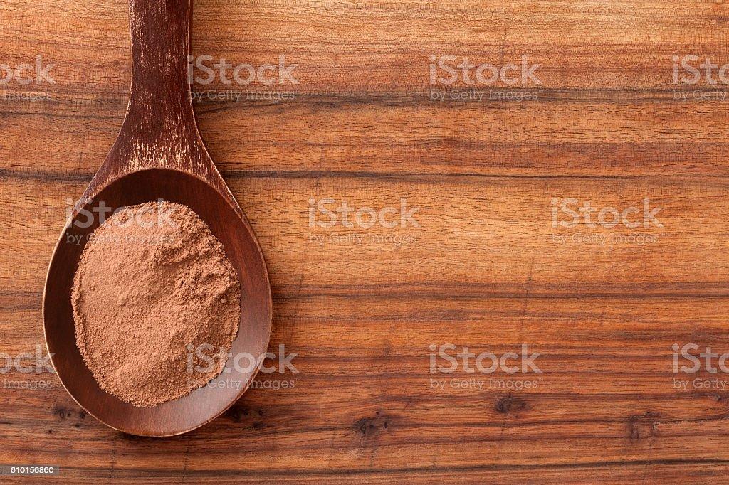 Cocoa stock photo