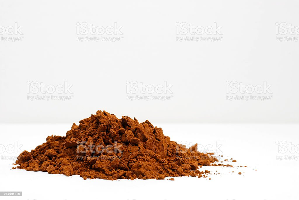 Cocoapowder royalty-free stock photo