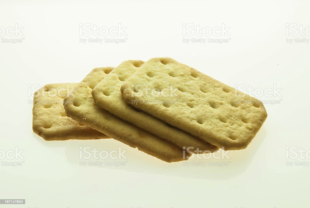 Coconut biscuit stock photo