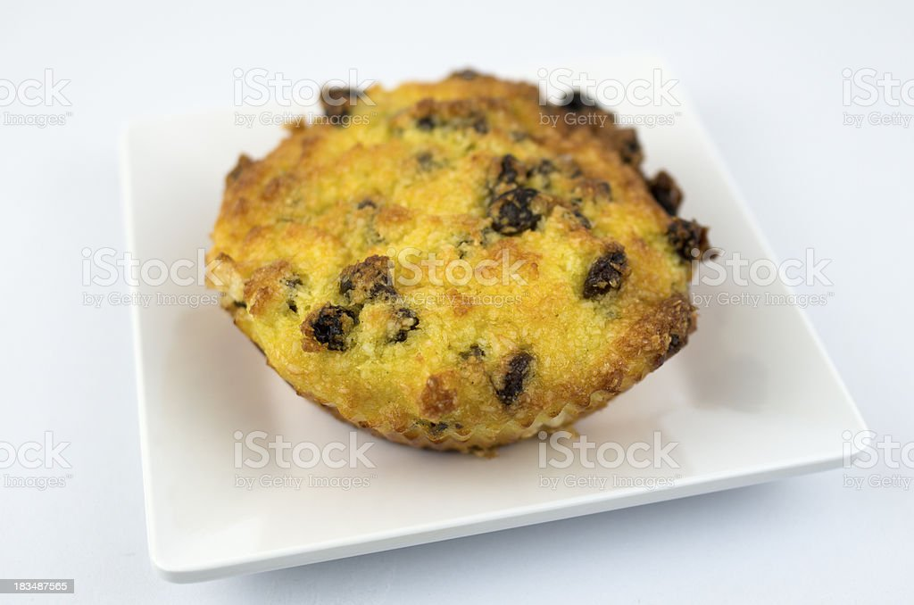 Coconut Biscuit with Raisin royalty-free stock photo