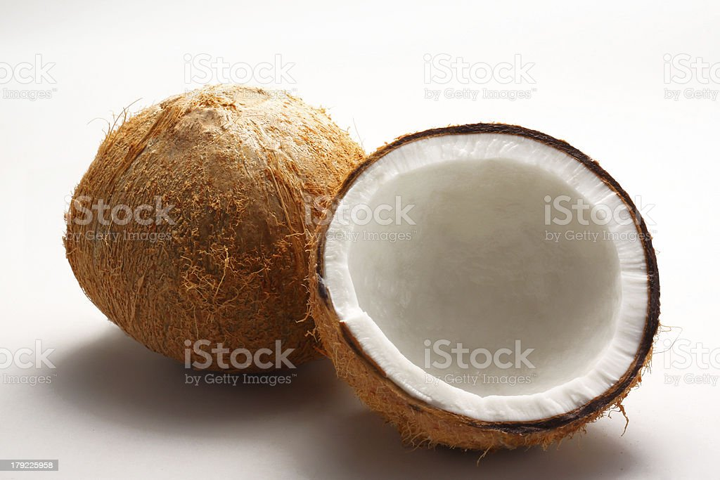 Coconut milk royalty-free stock photo