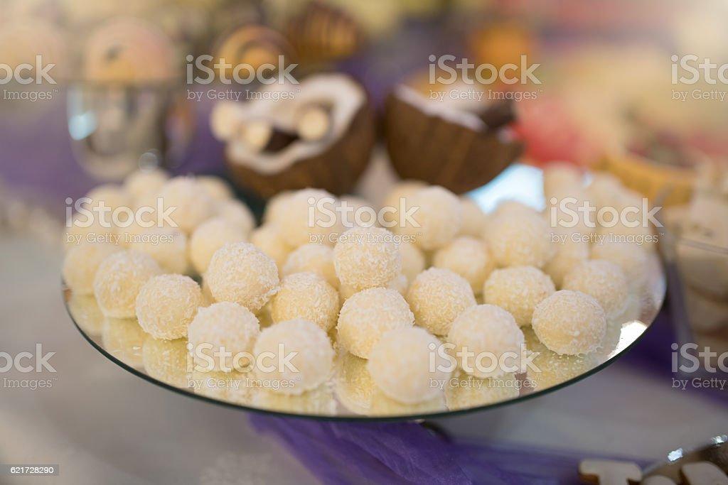Coconut pleasure stock photo