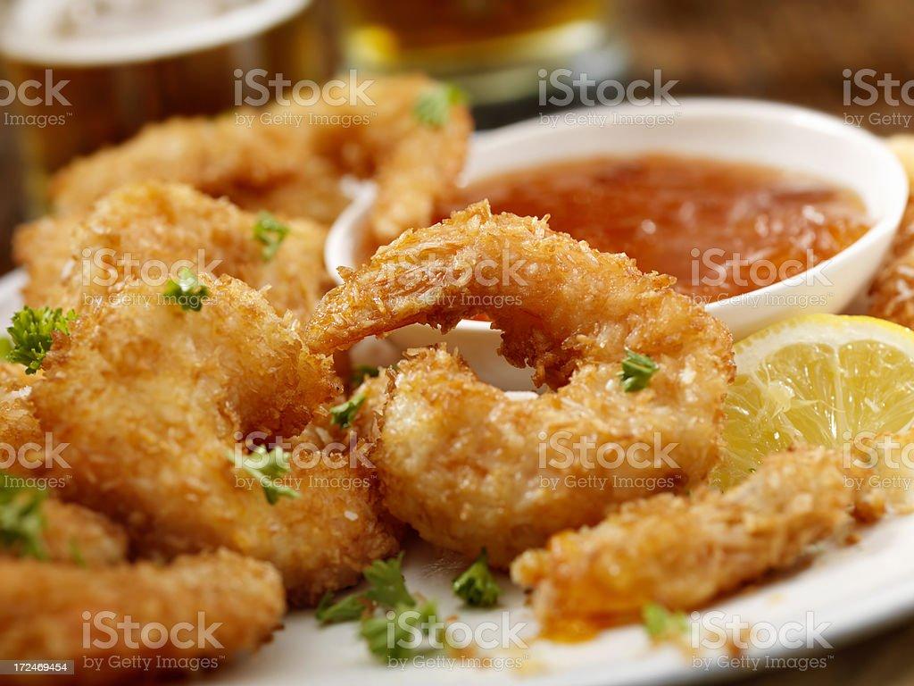 Креветки во фритюре рецепт с фото