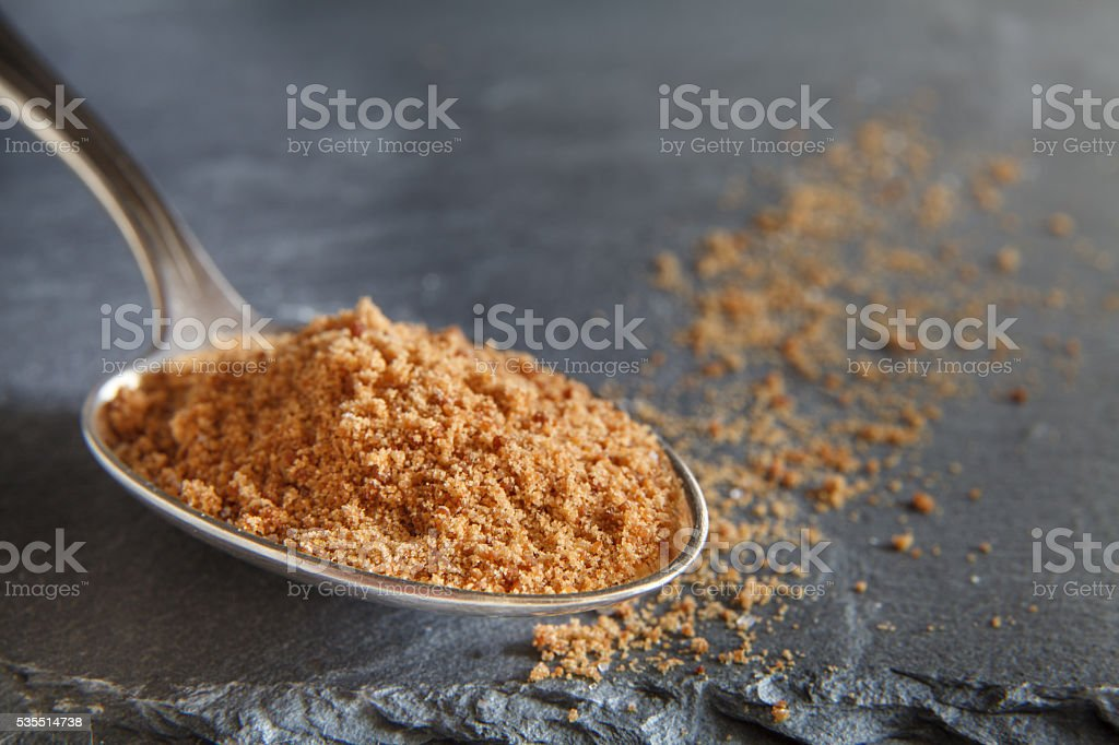 Coconut sugar stock photo
