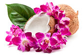 Coconuts and lei