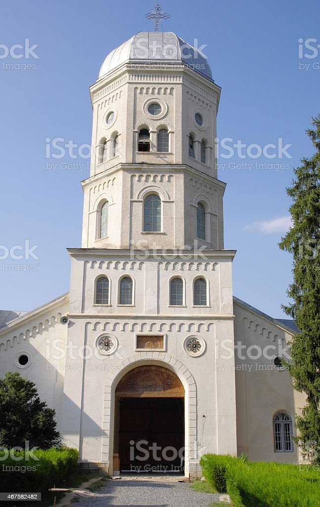 Cocos Monastery,  Dobrogea , Romania stock photo