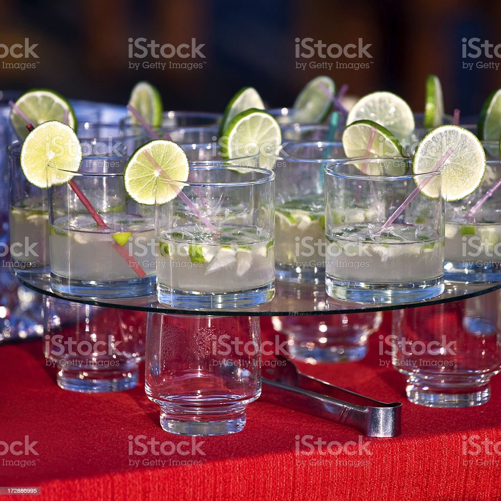 Coctail party royalty-free stock photo