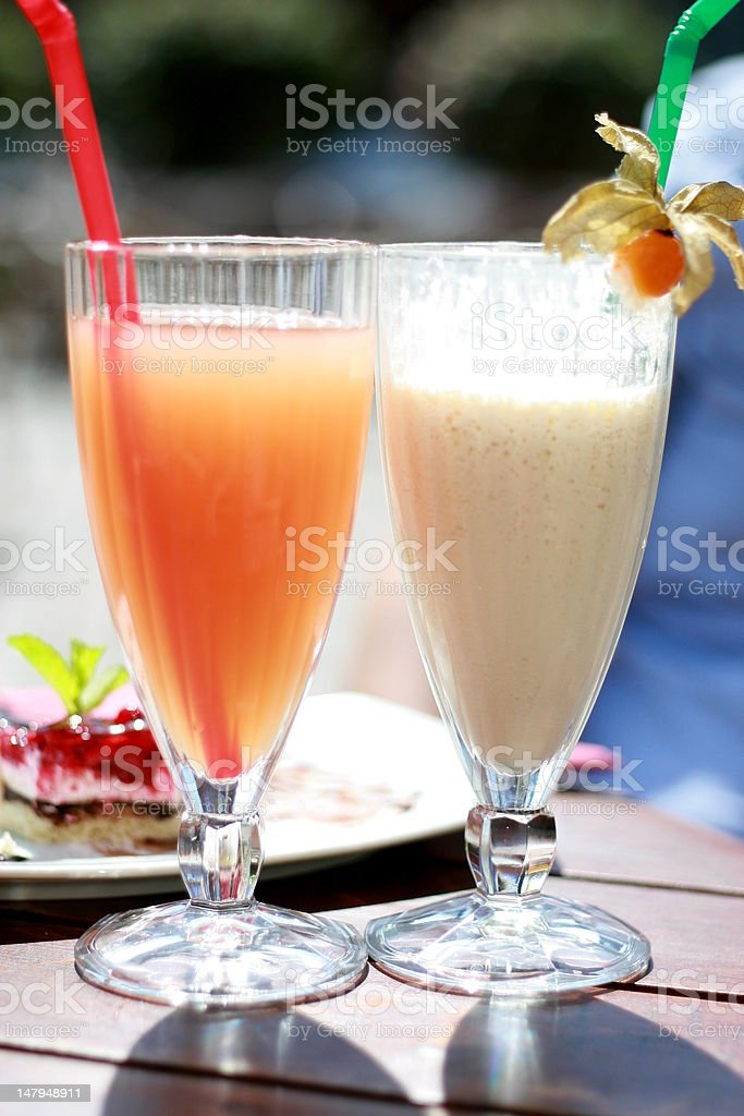 Coctail royalty-free stock photo