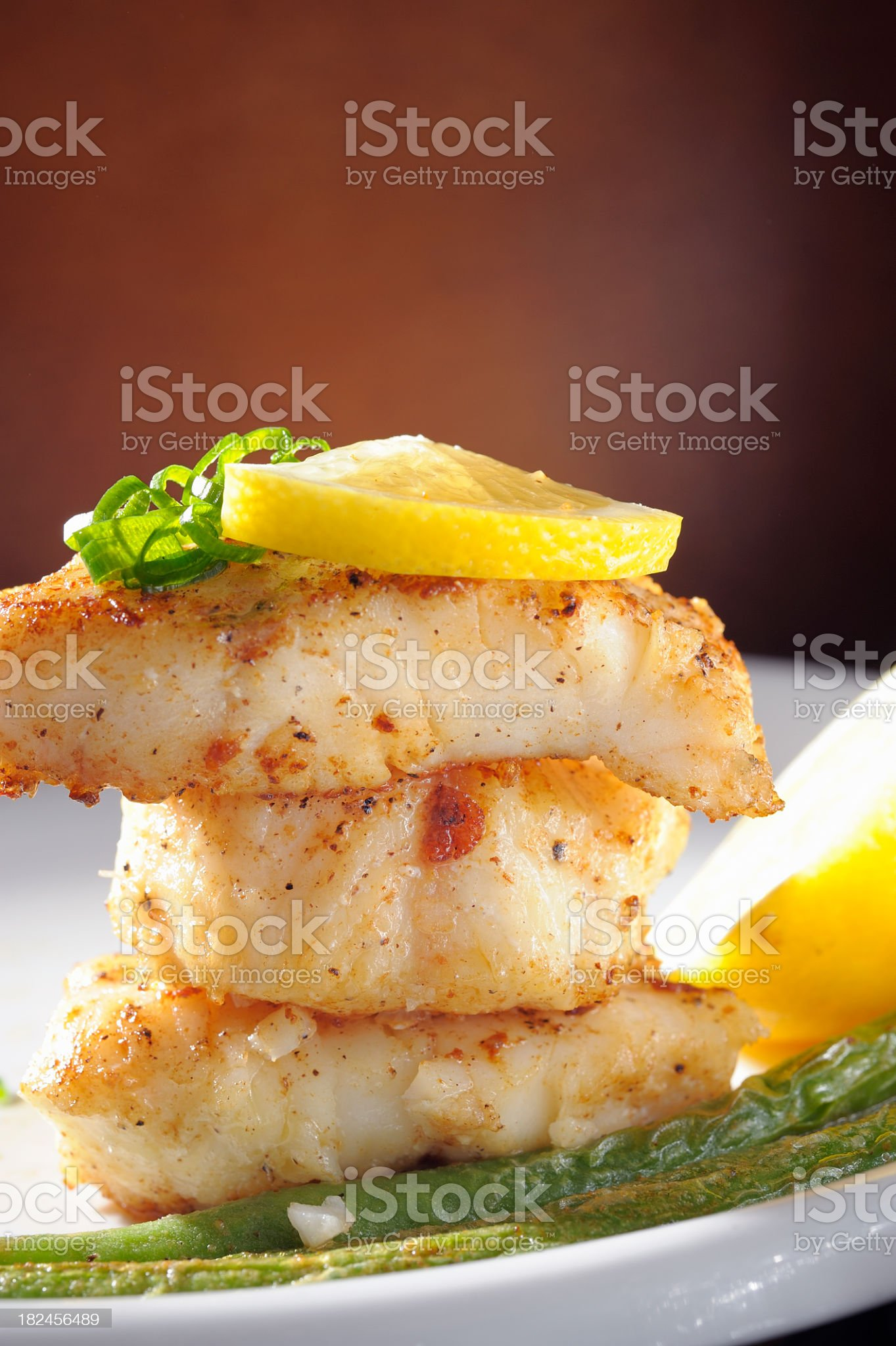 Cod Fillet. royalty-free stock photo