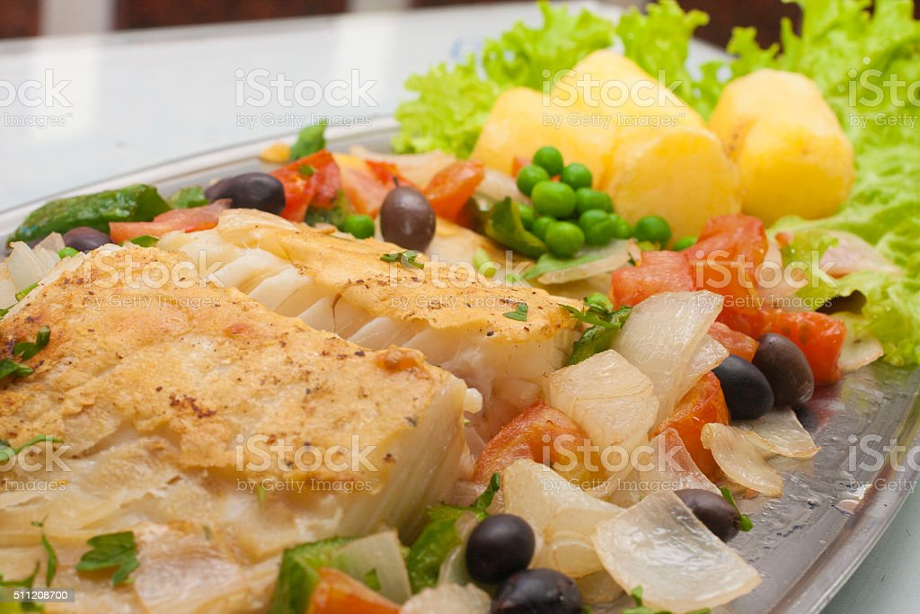 Cod FIsh stock photo