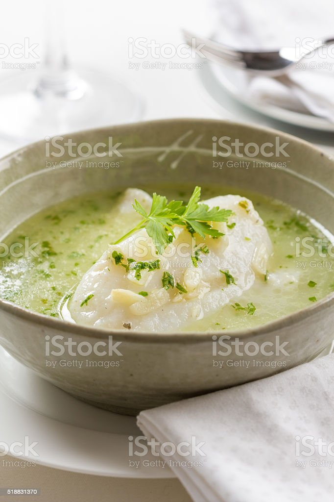 Bacalao en aceite stock photo