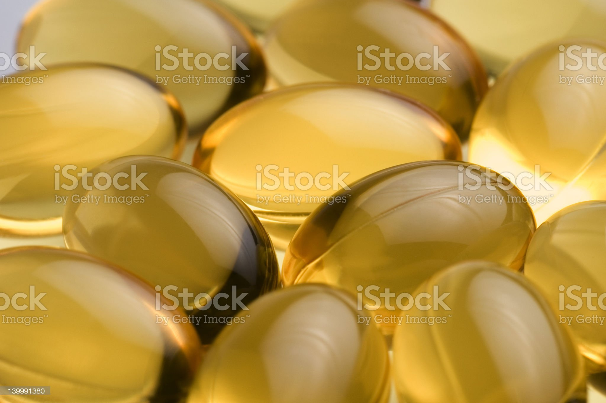 Cod liver oil royalty-free stock photo