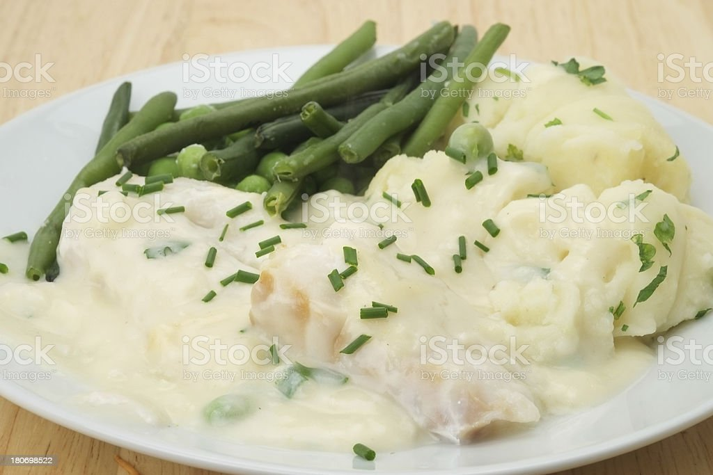 Cod Mornay stock photo