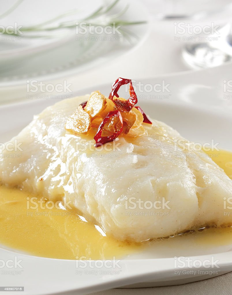 Bacalao stock photo