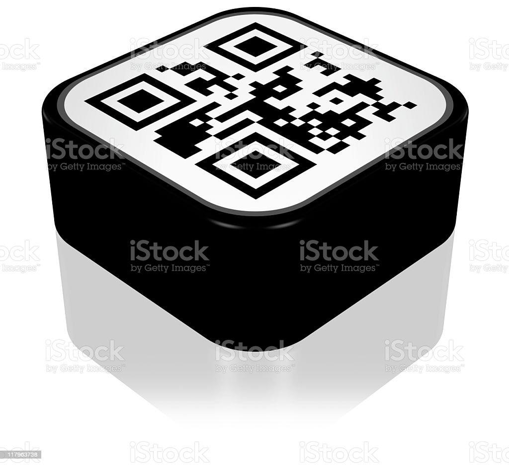 QR Code Icon royalty-free stock photo