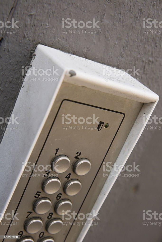 Code lock royalty-free stock photo