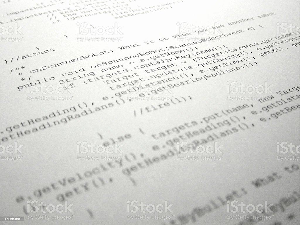 code royalty-free stock photo