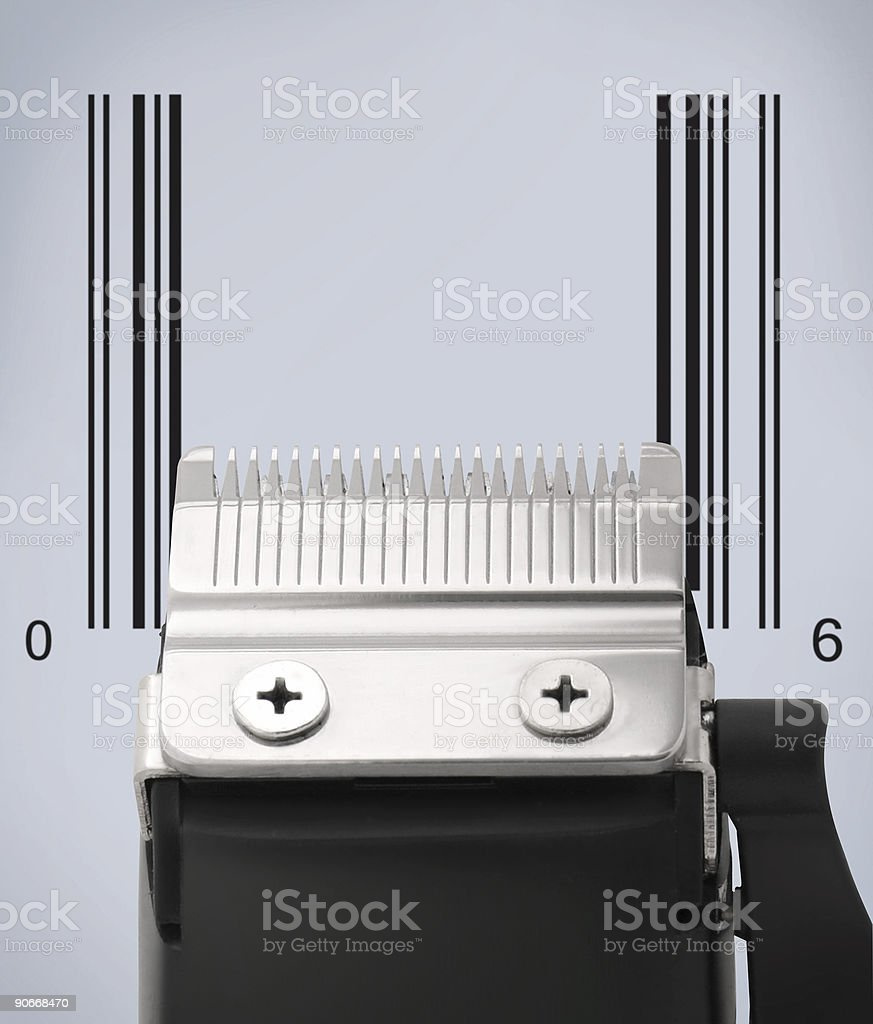 Code Trimmer royalty-free stock photo