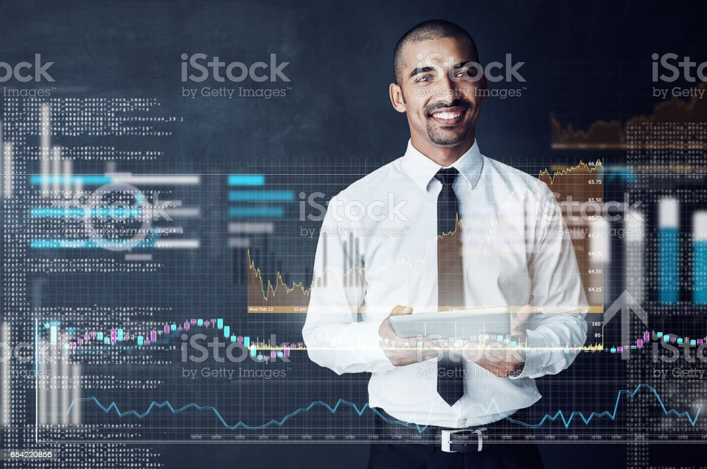 Code your own successful future stock photo