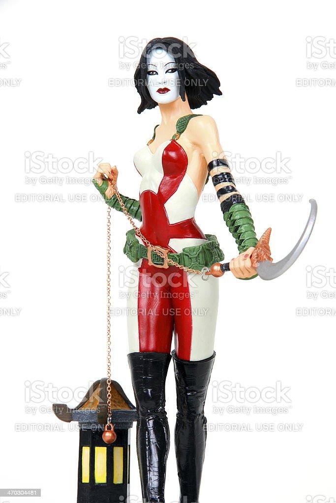 Codenamed Kabuki royalty-free stock photo