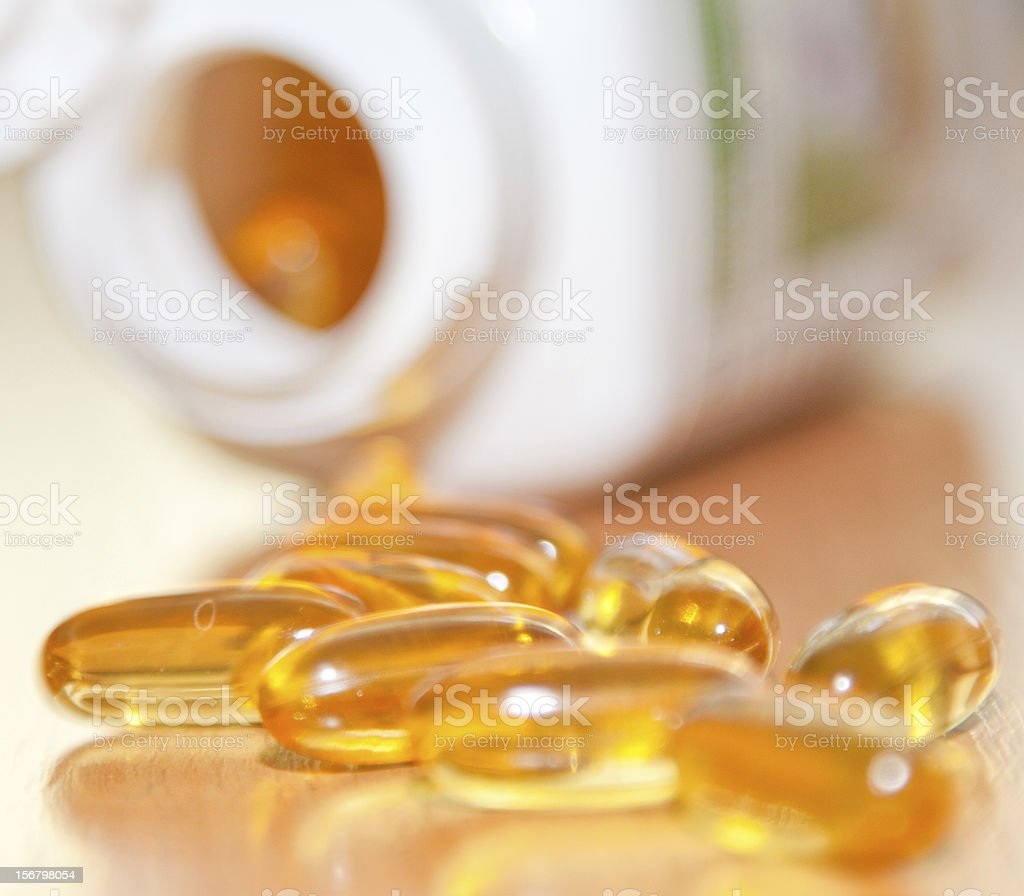 cod-liver oil royalty-free stock photo