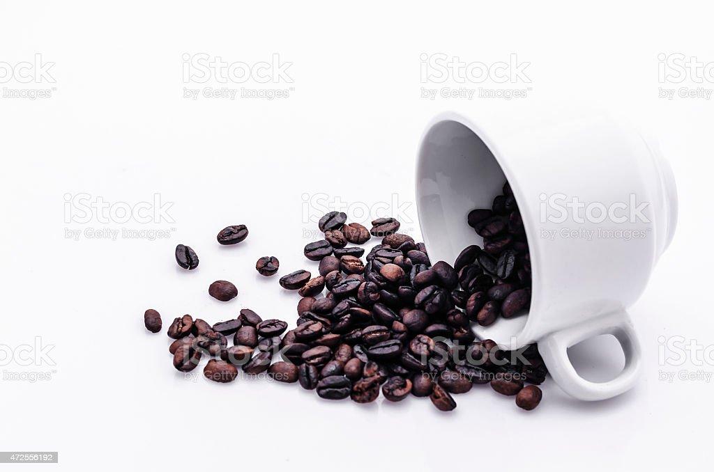 Cofee fasoli zbiór zdjęć royalty-free