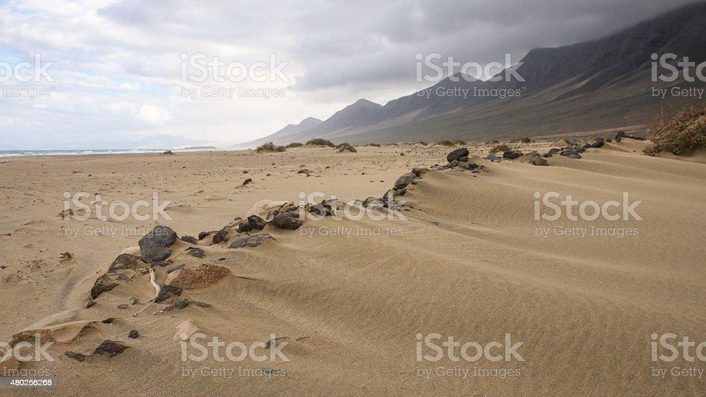 Cofete beach royalty-free stock photo
