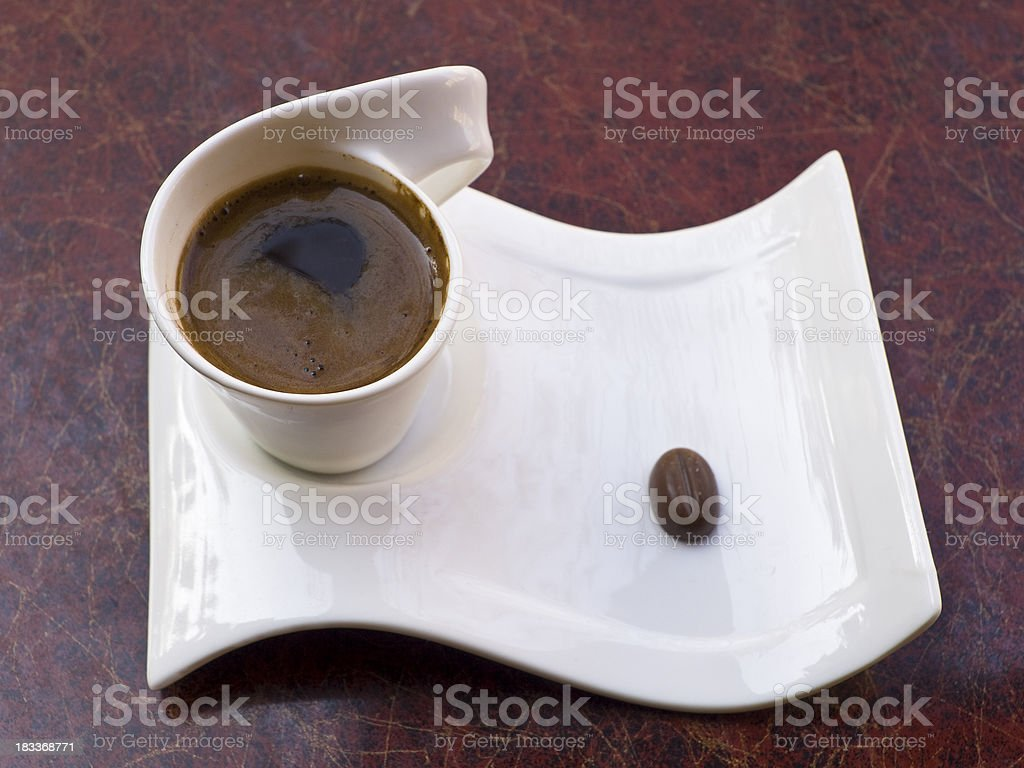 Coffe and ch royalty-free stock photo