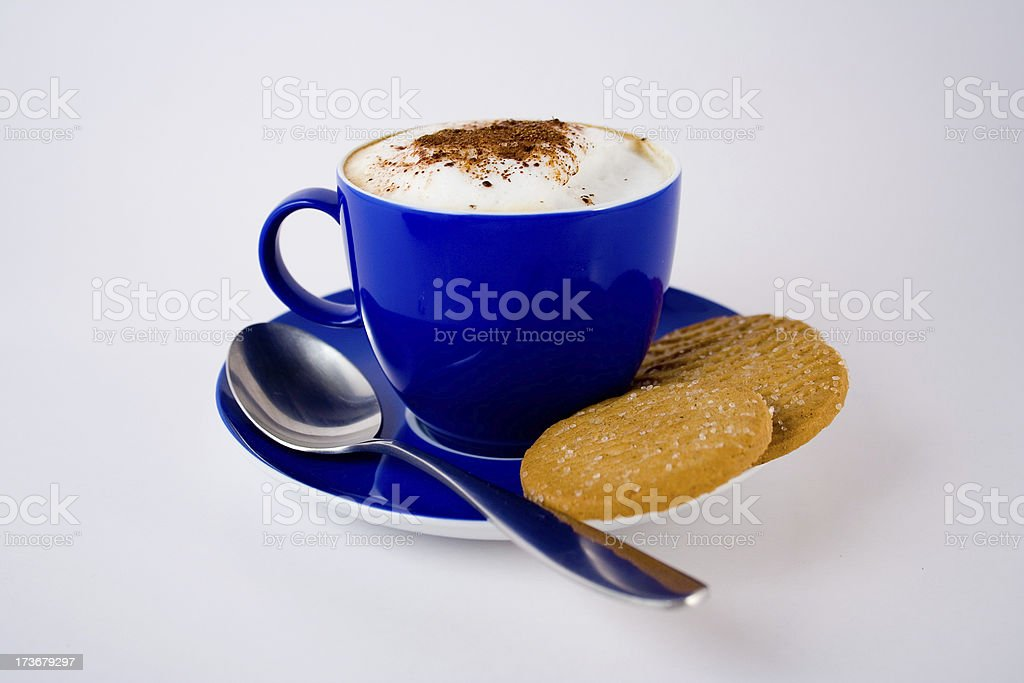 Coffe and cookies royalty-free stock photo