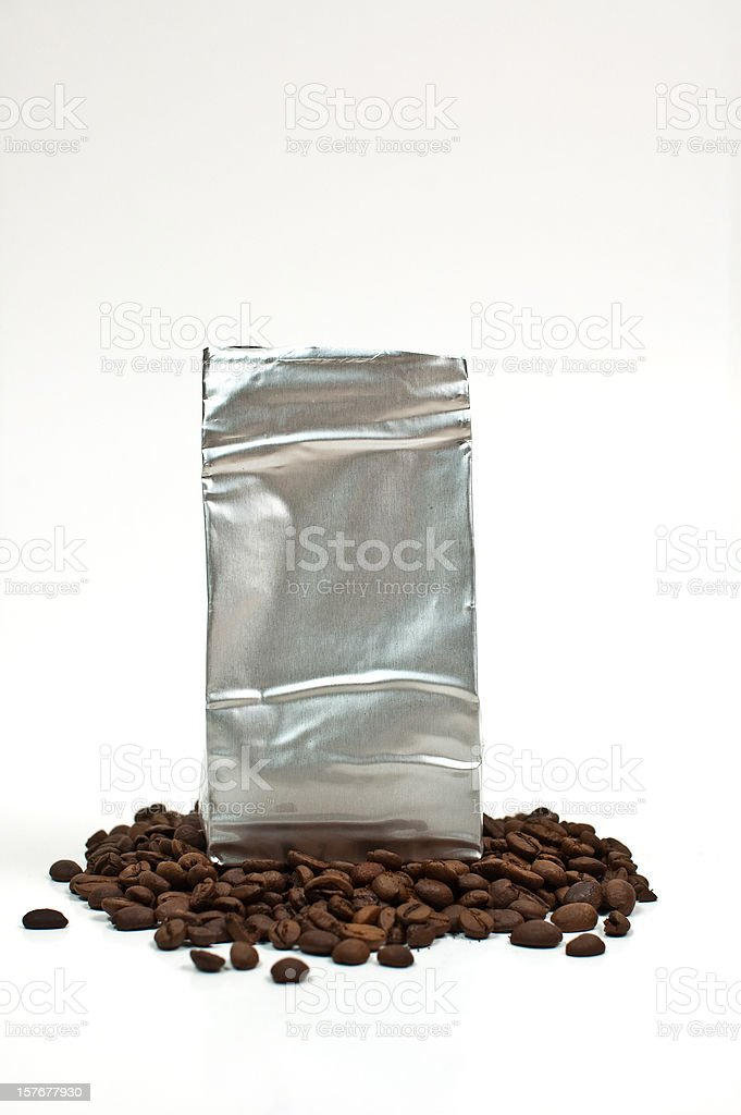 coffe bag royalty-free stock photo