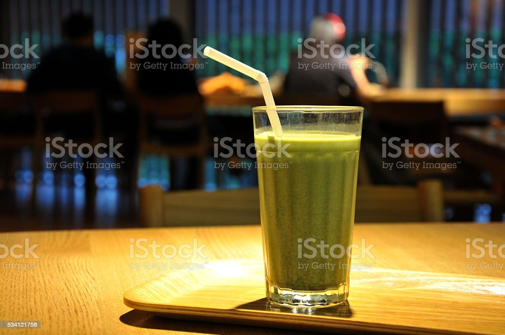 Coffe bar in China stock photo