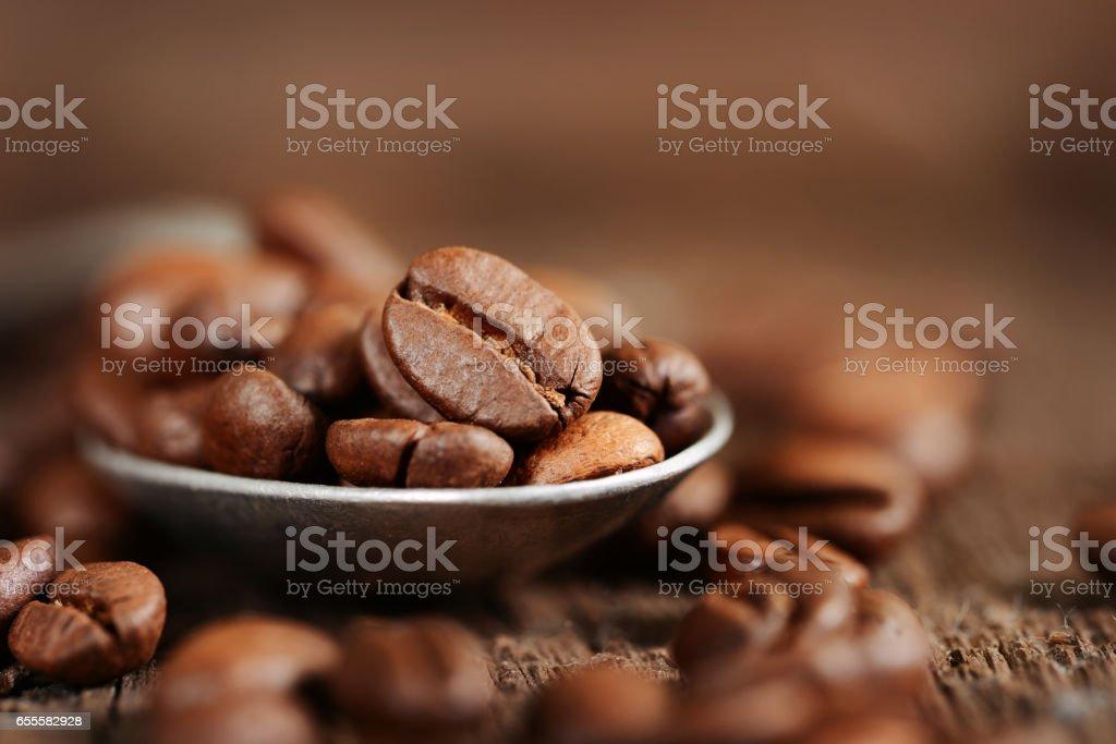 Coffe close up stock photo
