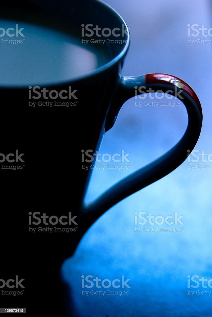coffe cup in morning light royalty-free stock photo