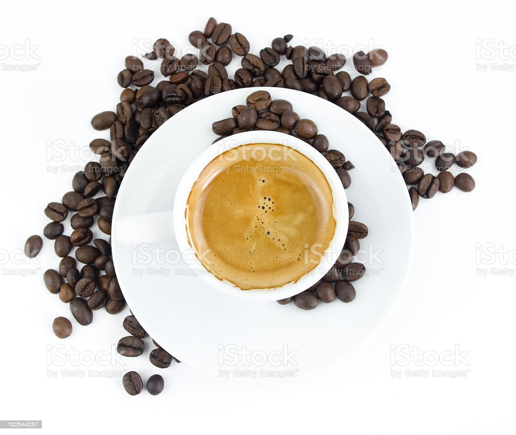 coffe cup royalty-free stock photo