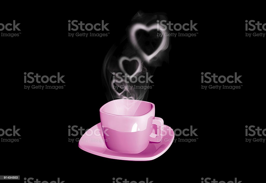 3D Coffe Cup ver 2.0 royalty-free stock photo