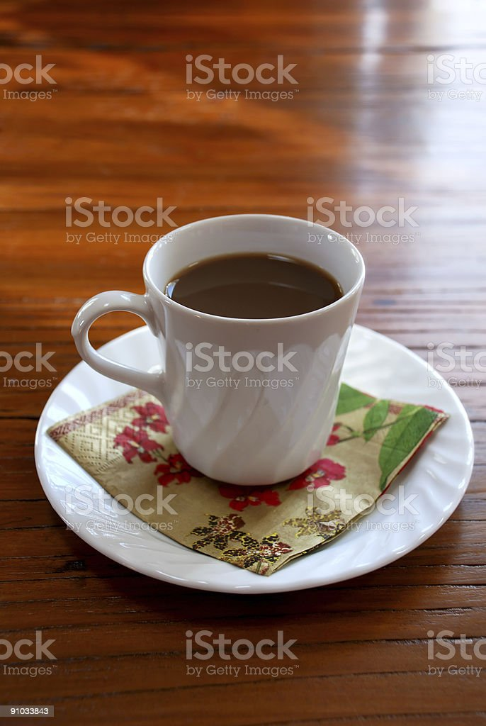 Coffe cup with space for text royalty-free stock photo