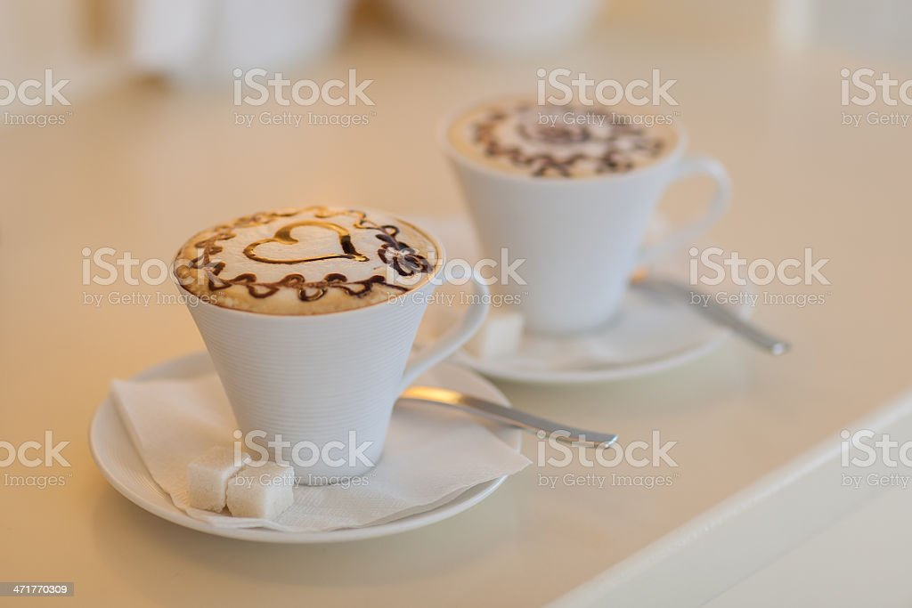 Coffe cups royalty-free stock photo