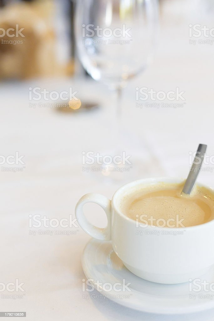 coffe latte royalty-free stock photo