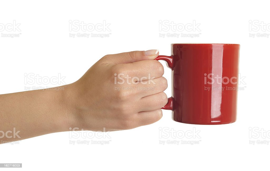 coffe mug stock photo