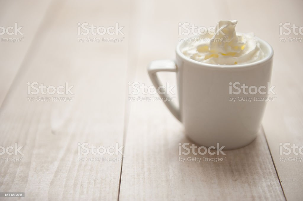 Coffe with Cream royalty-free stock photo
